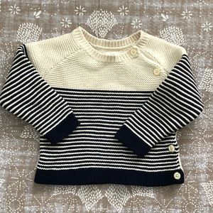 Nautical Autumn sweater from  Baby Gap